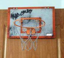 Steel basketball rim/ Plastic basketball backboard/ children indoor basketball game