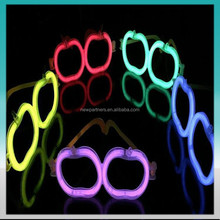 2015 party favor fluorescent glasses/ magic glasses/ plastic toy game glasses