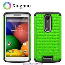 silicone and pc case for mobile phone motorola moto X3