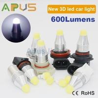 New 3D lighting source 1156 1157 T20 H7 H8 H9 automotive led lights
