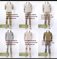 Military Typhon Camo colour Close-fitting Tactical Combat Suit/Combat Suits Rip Stop Polly Combat Type/ Frog Suits
