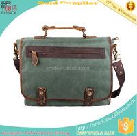 KB191502 Casual Canvas Leather Traveling Hot Shoulder Bag