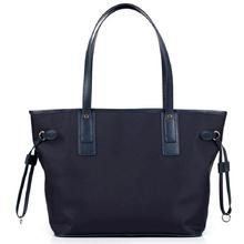Waterproof Promotional Customized Fashion Zipper Nylon Canvas Tote Bag