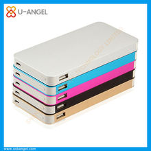 Shenzhen factory direct wholesale RoHS power bank, ultra slim brand new products aluminum 10000mAh power bank