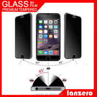 180 Degree Anti Spy Privacy Tempered Glass Screen Protector for iPhone 6 OEM