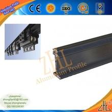 Sıcak! Yeni yüzyılın profesyonel alüminyum ekstrüzyon tedarikçi ağır perde parça, çin oem yapılan alüminyum perde rayı