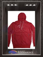 Custom Design Hot sales outdoor waterproof zip Plain Red Women work windbreaker