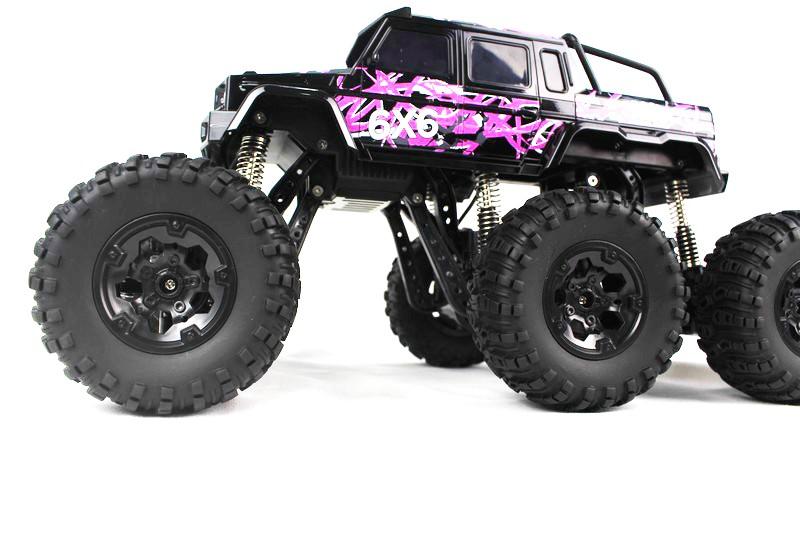 rw 2 4g 1 8 chelle 6wd 6x6 rc voiture rc monster truck rock crawler lectrique de voiture. Black Bedroom Furniture Sets. Home Design Ideas