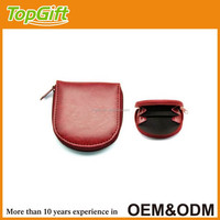 Leather coin purse with cheap price