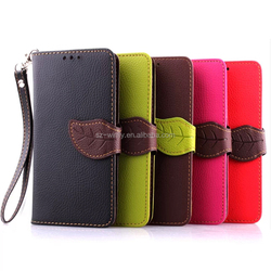 Top Quality Real Leather Phone Case for LG G3 MINI Folder Stand Genuine Leather Flip Cover