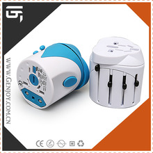 Universal Male to Male Electrical 250v to 110v Plug Adapter with CE and RoHS Certification