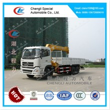Dongfeng 12ton Truck Mounted Crane, Truck With Loading Crane