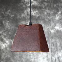2015 hot sell rustic cap pendant light, industrical pendant light for bar counter