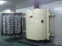plastic calorizing machine for car lights aluminum coating on plastic vacuum metallizer