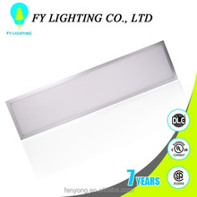 High bright UL DLC warm white 600x600mm recessed led panel light