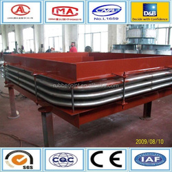 Resistance to high temperature expansion joint steel device