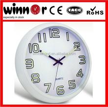 12 inch round plastic luminous night light wall clock,mosque digital clock,led digital clock