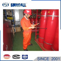 Portable ultrasonic Co2 tank level indicator level transmitter used in fire fighting industry