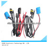 custom car hid cable harness, light wire harness, car headlight wiring harness