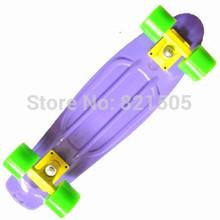 "Blank Custom 22"" Penny skate board Mini Cruiser Nickel long board skating Purple Yellow Green"
