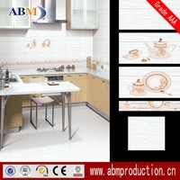 polished porcelain glazed kitchen wall/floor tiles prices in india,ABM brand