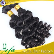 2015 new arrival 100% virgin unprocessed jerry curl human hair for braiding