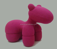 noble expensive fiberglass pony chair for child for commercial furniture