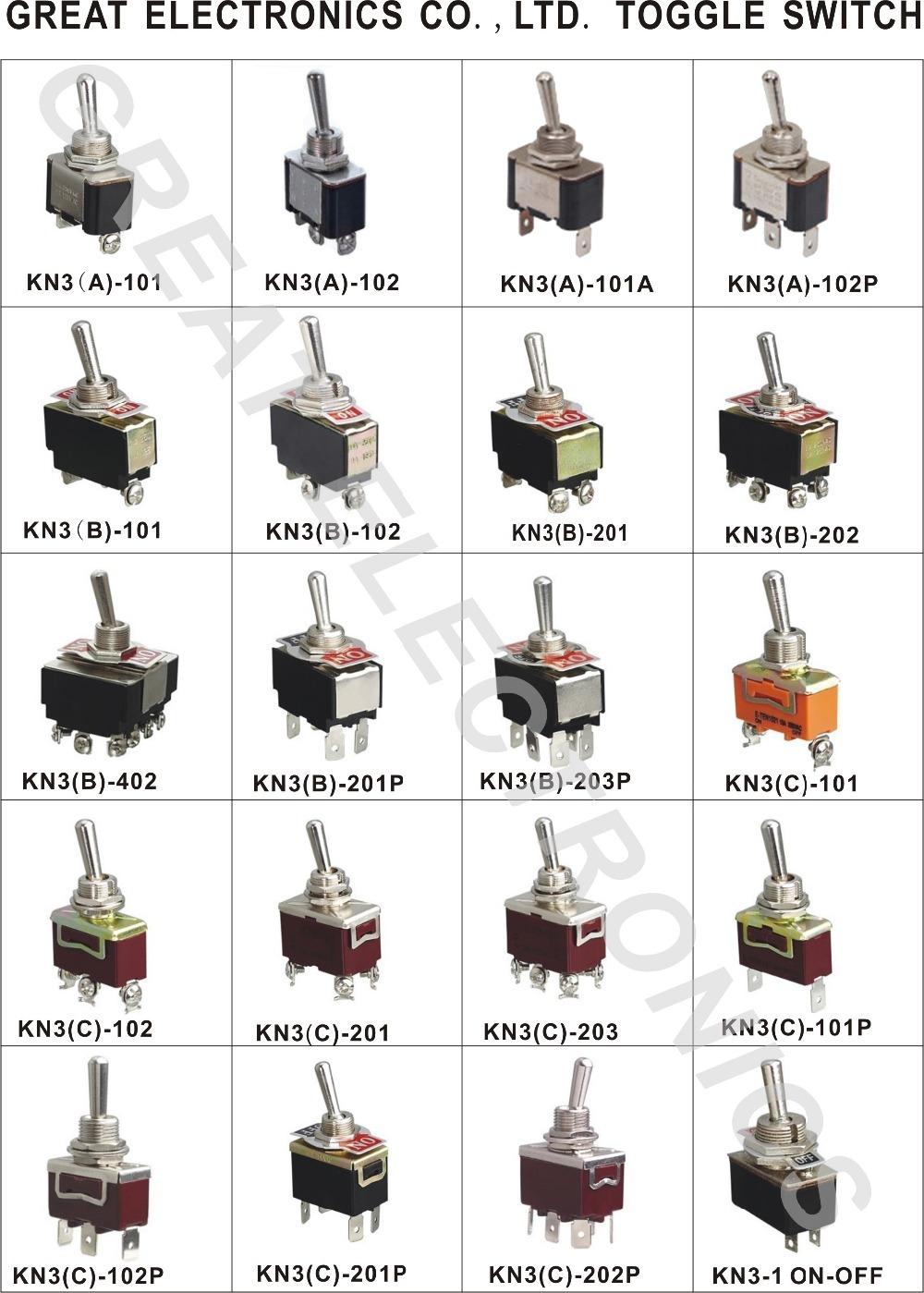 4pdt 12pins 3a 250vac6a 125vac3 Way Mini Toggle Switch Buy 3 1