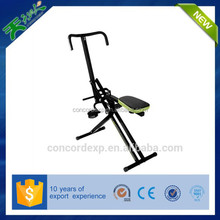Horse riding stretching exercise machine total crunch