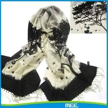 2015 new design love tree cashmere scarf