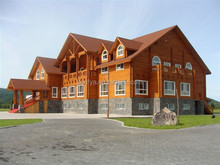 high quality prefabricated wooden house