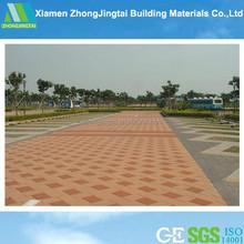 Plant supporting water retention fiberglass bricks