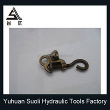 High quality Proformed Steel Galvanized Dead End Grip Dead Guy Grip Strain Clamp Right Stranded Hot Line Clamp