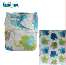 Wholesale Minkee One Size Reusable Baby Cloth Diapers Supplier