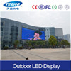 Outdoor Full Color Iron Cabinet P6 LED Sign Boards For Shops