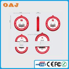 Alibaba china hot-sale red car pvc usb memory