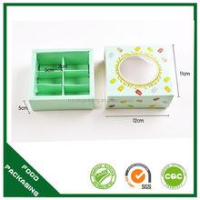 Customized factory direct food grade macaroon box