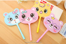 2014 Hot sell animal fan design ballpoint pen good for promotion and student award