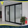 de aluminio puerta de vidrio de doble acristalamiento de aluminio de las ventanas y las puertas de cumplir con las normas australianas as2047 as2208