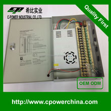 High Performance 12V 30A 18CHs dc switching power supply 12V 30A POWER SUPPLY