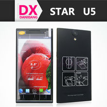 "Original Star Ulefone U5 Quad core Android phone MT6582 1.3 GHz 1GB RAM 4GB 8.0MP 5.5"" 960*540 IPS GPS 3G Dual Sim Mobile phone"