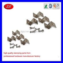 Solar panel roof z-bracket mount kit,metal stamping brackets,OEM/ODM are welcomed