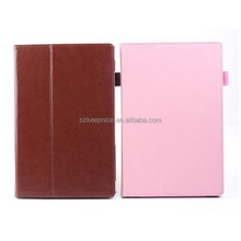 """Foldable Stand Tablet Leather Protective Case,Protective Leather Cover Cases for Sony,for Sony Xperia Tablet Z2 Case 10.1"""""""