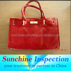 consumer products quality control/lady bags inspection service in Guangzhou
