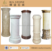 Round Hollow Column, Marble Columns For Sale,Decorative Roman Round Column