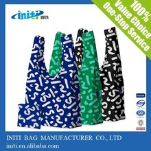 Top quality trendy reusable shopping bags