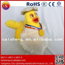 kid toy wholesale kitchen plush yellow chicken toys