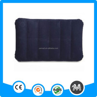 Durable cheap soft quadrate inflatable bed pillow