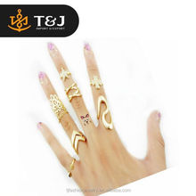New Hot Sale Unisex Children Fashion noble Knuckle Rings