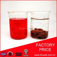 Water Decoloring Agent BWD-01 for Costa rica Textile Dyeing Effluent Decolorizing